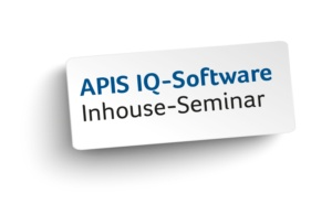 APIS IQ-Software - Inhouse Seminar