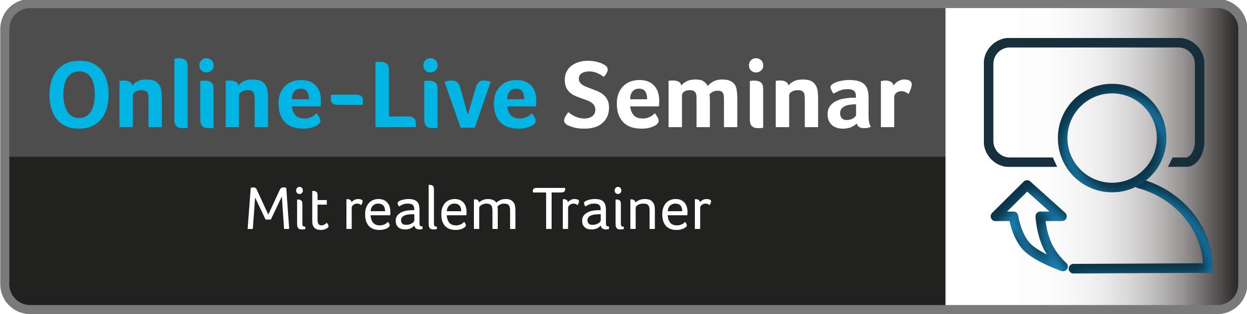 E-Learning - Online Live Seminar